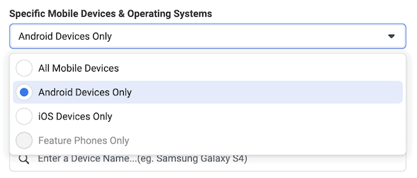 How to navigate the iOS 14 update with Facebook Ads device selection 當廣告失去大數據 ⋯⋯ iOS14 如何影響你的Facebook廣告?